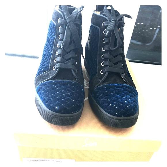 sports shoes c984e acc82 Christian Louboutin Louis Orlato woman's sneaker